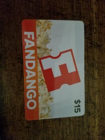 Photo Fandango Gift Card ($15) - $10 (Ellington)