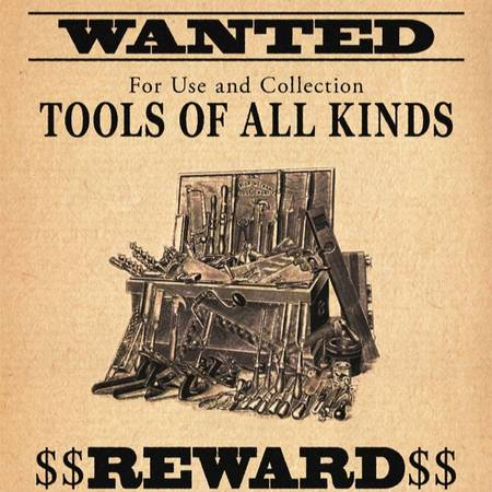 Photo I buy used and vintage tools - $123 (Yarmouth)