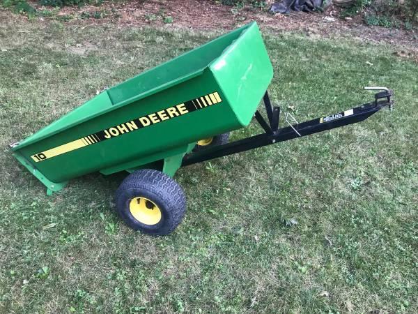 Photo John Deere riding mower trailer - $150 (Sagamore Beach)