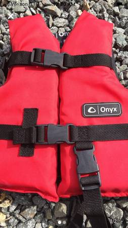 Photo Kids PFD Onyx life vest up to 50 lbs - $15 (Sagamore beach)
