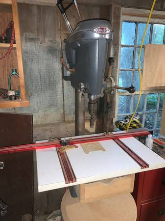 Photo King Seely Craftsman Floor Standing Drill Press - $225 (Yarmouth Port)