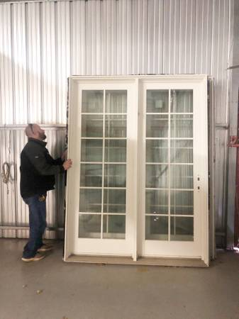 Photo Large Anderson Glass Doors - $250 (Chatham)