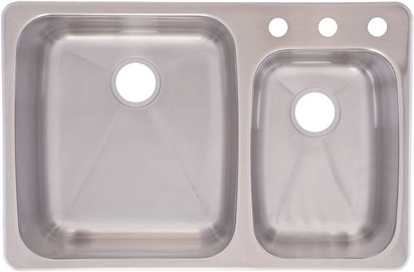 Photo NEW Franke Double Stainless Steel Sink - $100 (CENTERVILLE)