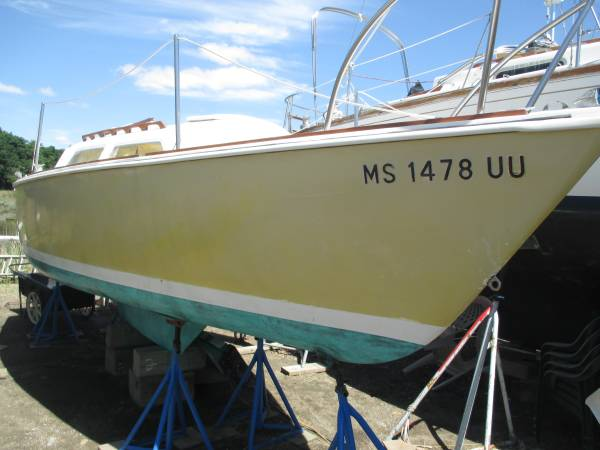 Photo ODay 22 Sailboat - $2,500 (Quincy)