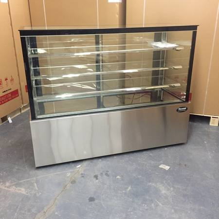 Photo Pastry case Bakery refrigerated display show case NEW restaurant equip - $2,799 (FREE DELIVERY)