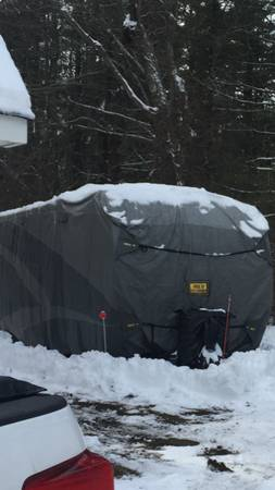 Photo Rv cover, fresh water tank  WD Hitch for sale - $1 (middleboro)