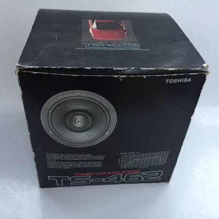Photo Toshiba TS-462 6 in 2 Way Rear Deck Door Mount Car Stereo Speakers New - $75 (Barnstable)