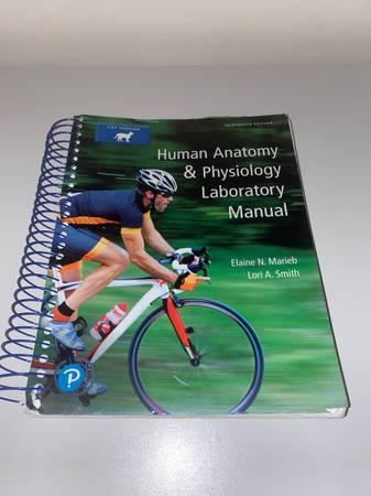 Photo USED Human Anatomy  Physiology Laboratory Manual 13th Edition Cat Version - $15 (Sagamore Beach)