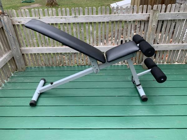 Photo Weider Pro 125 InclineDecline Bench - $35 (Sandwich)