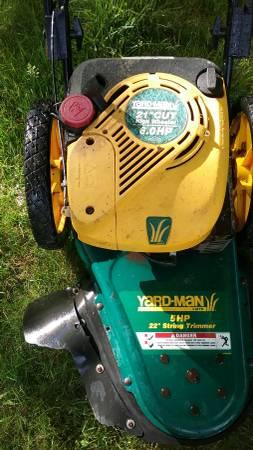 Photo Yard Man Wheeled grass trimmer-serviced - $200 (Hyannis)