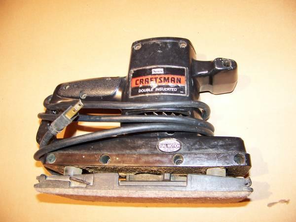 Photo craftsman sander - $30 (Sandwich)