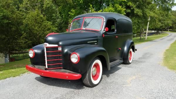 Photo 1948 International Panel Truck - 12 ton - $10000 (Marion, Illinois)