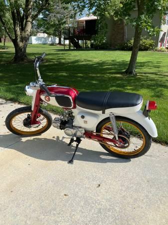 Photo 1965 Honda S65 - completely overhauled - $2,500 (Nashville, IL)