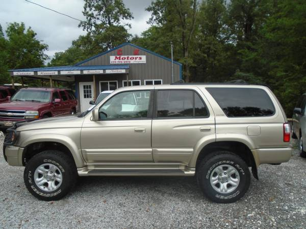 Photo 2001 Toyota 4Runner LIMITED 4x4  GREAT CONDITION - $5,200 (Paducah  www.ckmotorsky.com)