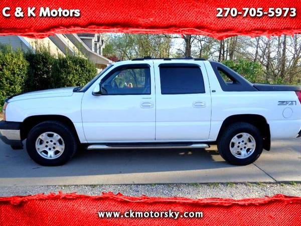 Photo 2005 Chevy Avalanche Z71  Heated Leather  Sunroof  LOTS of CREW AV - $7500 (Paducah  ckmotorsky.com)