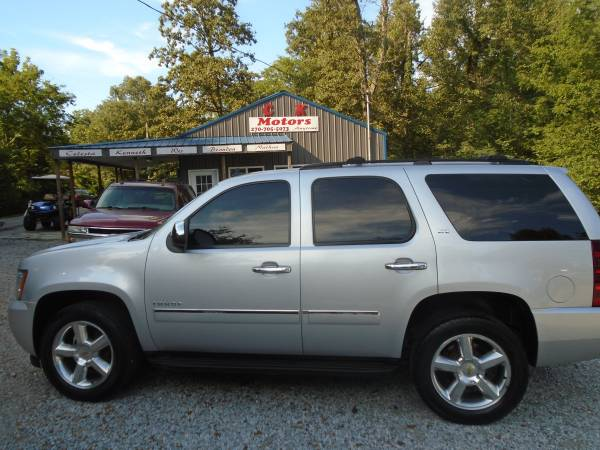 Photo 2011 Chevy Tahoe LT  134k  4x4  Quad Seating  H Leather  134k - $11,900 (Paducah  www.ckmotorsky.com)
