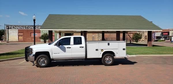 Photo 2015 Chevy Silverado 2500-4x4 Service Utility truck - $21,850 (Pauls Valley)