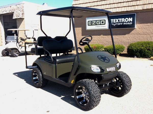 Photo 2021 Limited Edition EFI GAS E-Z-GO Valor Golf Cart 4 passenger - $6,999 (AACO EVANSVILLE)