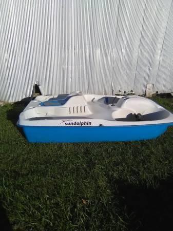 Photo 5 person pedal boat - $350 (GREENVILLE)