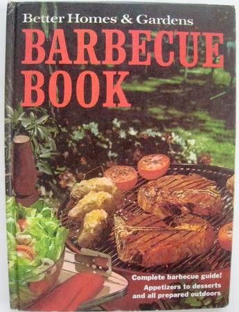 Photo Barbecue Book by Better Homes and Gardens - $3 (4.8 miles North of Route 3  Hwy 154 Intersection on Rt 3)