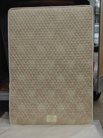 Photo Bed mattress  springs, Full size, used - $150 (Benton, IL)