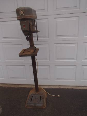 Delta Rockwell Drill Press - Floor Model Delivery Possible - $675 (MurphysboroCarbondale)
