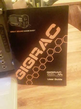Photo GIGRAC 1000 Watt PA Sound System - $175 (Percy)