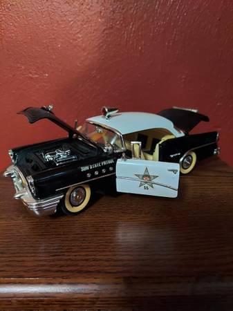 Photo MIRA 118 diecast metal 1955 Buick Century Sun State Patrol car (Mt Vernon IL)