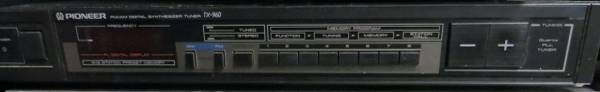 Photo Pioneer TX-960 AMFM Tuner with antennae Works great - $49 (217 West Walnut St. Carbondale IL)