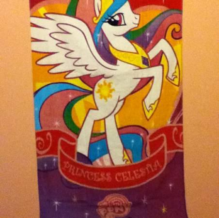 Photo (READ, SEE PHOTOS) ISOWanted Princess Celestia My Little Pony items - $1 (Cairo)