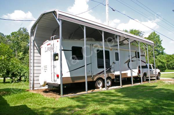 Photo RV Cover 3639L x 1239W x 1139H CARPORTS GARAGESBARNSCOMMERCIAL BUILDI - $4,978 (SOUTHERN ILLINOIS  BEYOND)