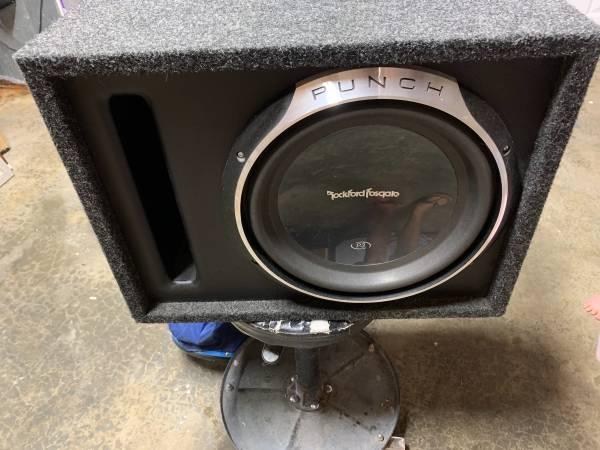 Photo Rockford Fosgate Speaker - $175