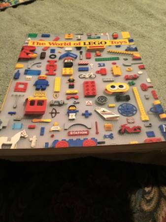 Photo The World of Lego Toys Book - $5 (Maryland Hts)
