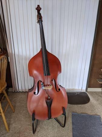 Photo Upright bass  standup bass - $1,100 (MURPHYSBORO)