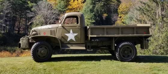 Photo 1942 Chevy 1-12 Ton Military Truck - $25,000 (Greene County)