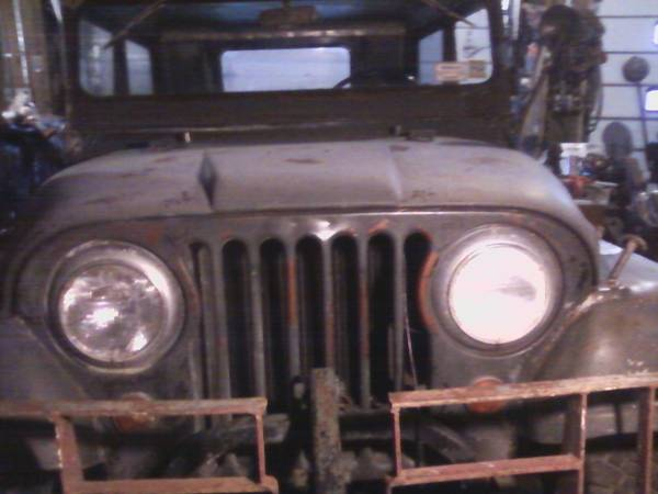 Photo 1967 kaiser Cj5 JEEP 1 mo car - $1 (Fleischmanns)