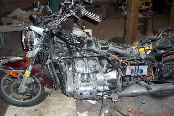 Photo 1984 Honda Goldwing 1200 Motorcycle - $500 (Narrowsburg NY)