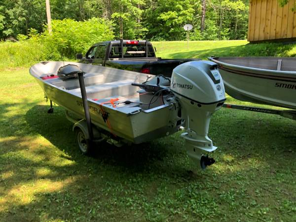 Photo 2008 Starcraft 16 ft with 2020 50 H P four stroke - $8,000 (Whitehall)