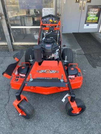 Photo 2021 BAD BOY 36quot  48quot  54quot HYDRO WALK BEHIND MOWER W FREE BACKPACK - $4,699 (BRIDGEPORT CT  WE DELIVER FOR $99)