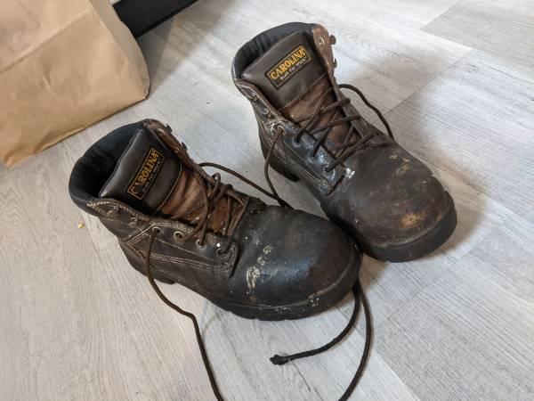 Photo Carolina men39s work boots size 8 12 - $20 (Poughkeepsie)