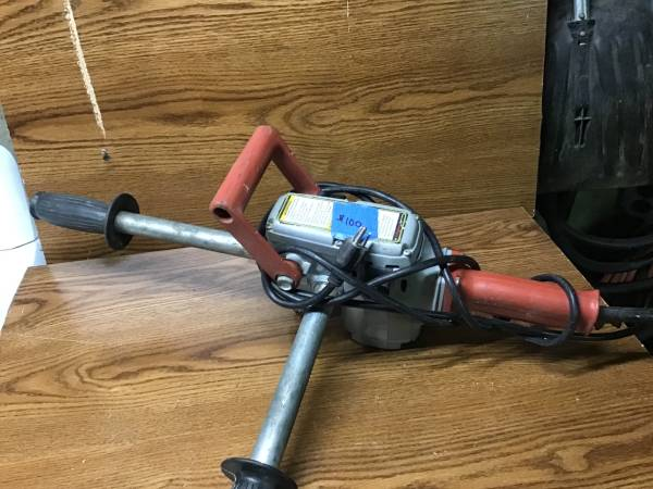 Photo Chicago Electric 12 Inch right angle drill - $60 (Cheshire .Ma.)