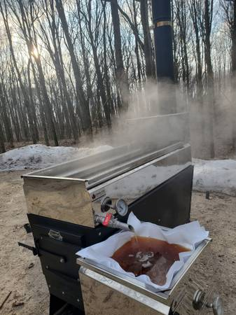 Photo Dauntless Hobby Maple Syrup Evaporator, Brand New, V3 - $1,299 (Free Delivery to your Door)