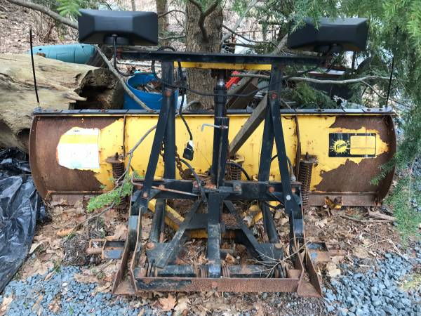 Photo Fisher Snow Plow MM1 - $250 (CHICHESTER)