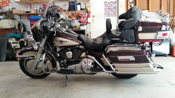 Photo For Sale 1998 Harley Davidson Ultra Classic - $10,000 (Palmer)