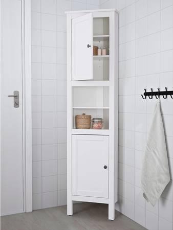 Photo Ikea Hemnes Corner Shelf White - $150 (Livingston Manor)