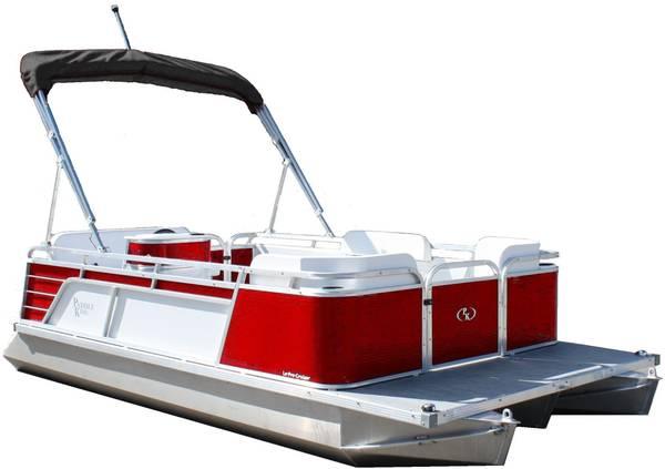 Photo New Paddle King Mini pontoon ElectricGas - $6,800 (Hudson Valley, NY)