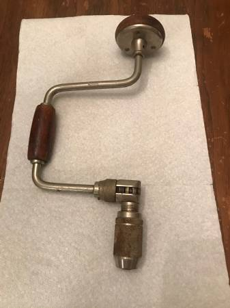 Photo Nice Stanley USA  1250 Bit Brace, drill, tools, tool - $16 (Ballston Lake NY)