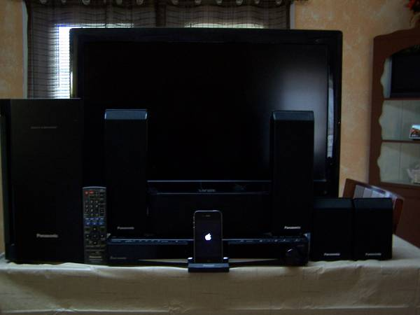 Photo Panasonic 5 DVD Home Theater System PLUS - $150 (Schenectady)