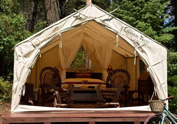 Photo Premium Canvas Wall Tent - $825 (CALLICOON)