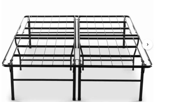Photo Steel Queen Size Bed Frame - $85 (ARKVILLE)